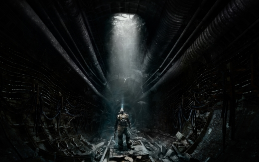 Metro Last Light Artyom Looking Up