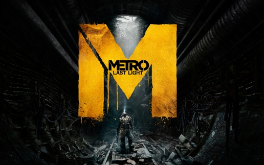 Metro Last Light Artyom in the Dark Tunnel