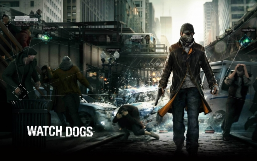 Aiden Pearce on the Street Watch Dogs