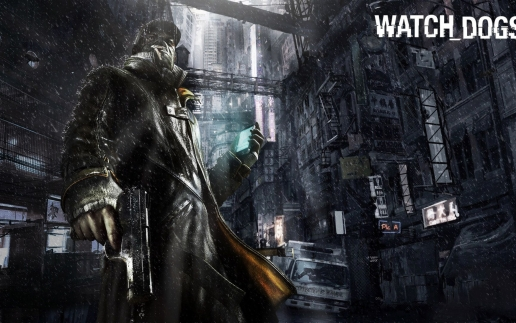 Aiden Pearce Darkness Rain Watch Dogs