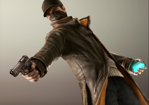 Aiden Pearce with PDA Concept Art Screenshot Watch Dogs