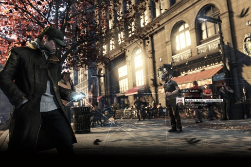 Aiden Pearce Garden Watch Dogs