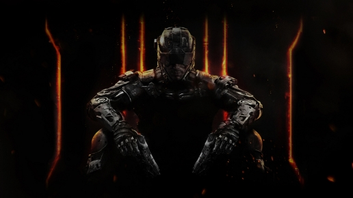 Soldier from Black Ops III Call of Duty