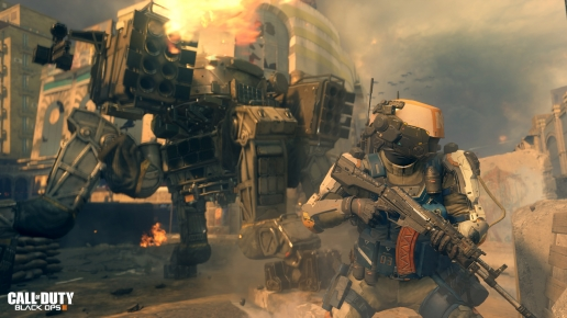 Call of Duty Black Ops III Warriors of Future in Big City