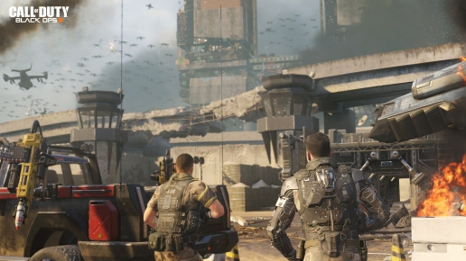 Call of Duty Black Ops III Army of Future and Big City