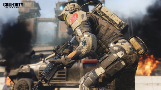 Call of Duty Black Ops III Soldier with Weapon
