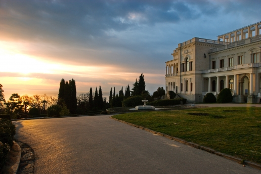 Livadiya Palace and Castle in Crimea Ukraine
