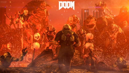 Fire in the Hell with Doom Soldier
