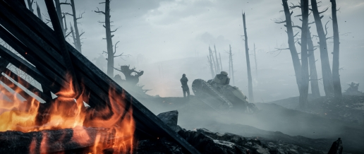 Battlefield 1 Fire and Soldiers