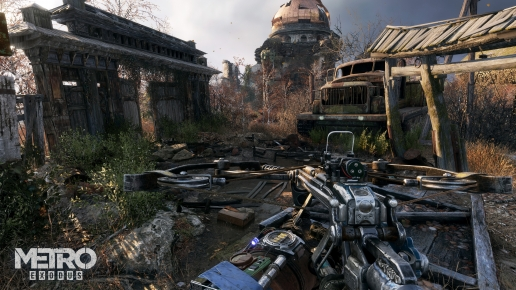 Metro Exodus Screenshot Dead World and Crossbow