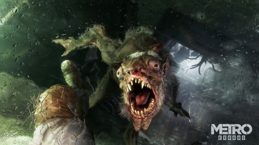 Metro Exodus Danger Monster and Artyom