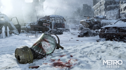 Metro Exodus Winter in Dead Moscow and Gasmask