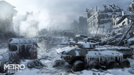 Metro Exodus Dead Moscow and Winter