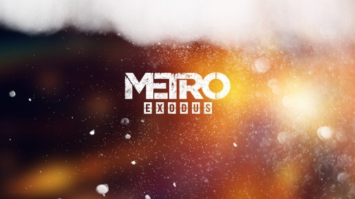 Metro Exodus Emblem on the Glass